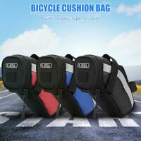 Bicycle Reflective Saddle Rear Tool Bags Bike Phone Case Seatpost Seat Tail Bag