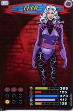 Spiderman Heroes And Villains Card #132 Clea