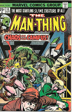 Man-Thing Comic Book #18, Marvel Comics 1975 VERY FINE-