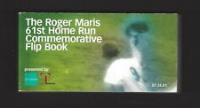 ROGER MARIS 61ST HOME RUN COMMEMORATIVE FLIP BOOK - YANKEE STADIUM GIVEWAY 2001