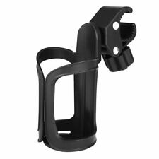 Beverage Cup Holder Universal For Wheelchair Walker Rollator Bike Stroller Black