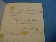 JULES CLARETIE Autographe Signé 1880 DRAMATURGE COMEDIE FRANCAISE ACADEMIE