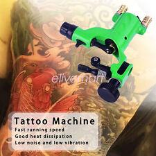 Rotary Tattoo Machine Shader Liner Assorted Tatoo Motor Gun Kit Ink Green Color