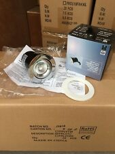 Box Of 20pcs Polished Chrome Tilt Fire Rated Downlights & 50W MR16 Halogen Lamps