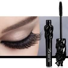 Black 3D Fiber Eyelash Makeup Mascara Extension Curling Thick Waterproof New B1E