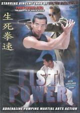 Fist Power DVD Vincent Zhao In English with Anthony Wong and Uncut