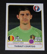 465 T. COURTOIS BELGIQUE BELGIË DIABLES ROUGES PANINI FOOTBALL UEFA EURO 2016