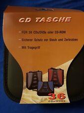 CD Tasche für Auto und Unterwegs für 36 CD/DVD
