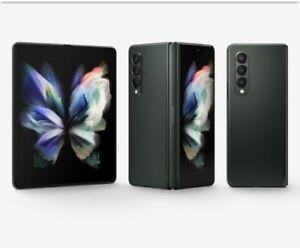 Samsung Galaxy Z Fold3 5G SM-F926U - 256GB - Phantom Black (AT&T)