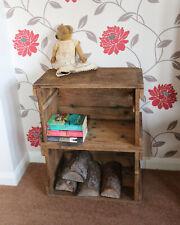 Wooden Cupboard Vintage Shelving Vintage UNUSUAL RARE HEAVY