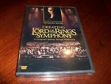 Creating The Lord Of The Rings Symphony Composers Journey DVD by Howard Shore