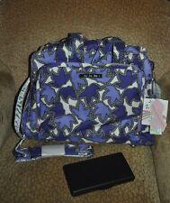 NWTS Ju Ju Be Be Prepared Ultimate Diaper Bag Lilac Lace Purple  NEW!!
