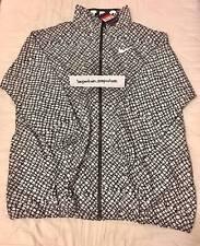 Nike Women's Festival Printed Jacket Black/White Size L (Oversized) (725822 010)