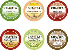 Cha4TEA 36 Keurig K-Cup Tea Variety Flavor Sampler Pack K Cups (Green Tea, Bla..