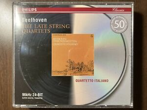 Beethoven: The Late String Quartets – Quartetto Italiano (3CD)