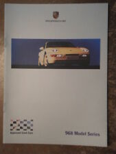 PORSCHE 968 orig 2001 UK Mkt Factory Issue Model Series Brochure - Club Sport CS