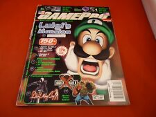 Gamepro Magazine December 2001 Luigi's Mansion Nintendo Gamecube Cover