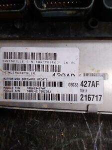 OEM  2006 PT CRUISER ECU CONTROL MODULE PCM MTX P05033427AF