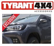 Toyota Hilux 2017 Black Headlight Trims Cosmetic Covers for TRD SR5 Rugged Model