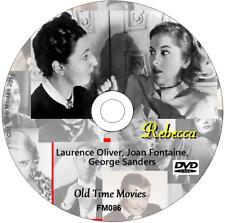 Rebecca - Laurence Oliver, Joan Fontaine, George Sanders DVD 1940