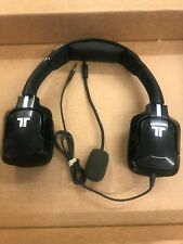 TRITTON KUNAI STEREO GAMING HEADSET BLACK 3.5mm Jack For PC/ PS4 used ref a177