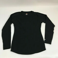 Champion Duofold Thermal Shirt Mens Long Sleeve Black M