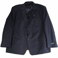 Lauren by Ralph Lauren Mens Suit Separate Jacket Blue Size 56 Wool $450 #084