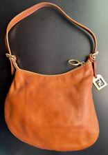 Vintage FENDI Leather Saddle Bag Ha