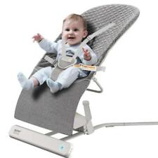 Baby Swing,Ronbei Baby Swing and Bouncer,Portable Swing,Automatic Swing Dk Gray