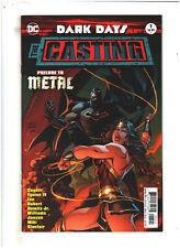 Dark Days: The Casting #1 NM- 9.2 DC Kubert Variant Prelude to Metal Batman