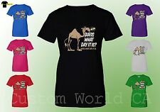 Women T-Shirt - Guess What Day It Is ? -  Ladies Shirts Funny