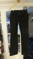 "b  7 FOR ALL MANKIND  Women Black Jeans Bootcut FLARED Size 28/33"" (Tag 26"")"