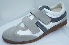 NUEVO HUGO BOSS Hombre Zapatillas Tenis Talla 12 Zapatos unaday Ante Gris
