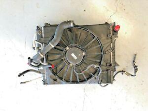 2004-2009 Jaguar XJ8 / VANDEN PLAS Cooling Fan Motor W/ Condenser Radiator