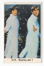 1970s Swedish Pop Star Card The Beatles #573 Paul McCartney John Lennon