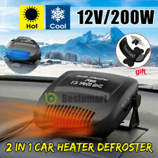200W Car Truck Portable Auto Heater Heating Cooling Fan Defroster Demister DC12V