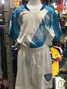 Guatemala Home White Blue soccer Set Kids Size 6Y Only