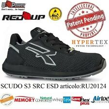 UPOWER SCARPE LAVORO ANTINFORTUNISTICA SCUDO S3 SRC ESD U-POWER RU20124 RED UP