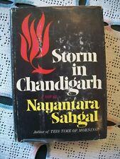 Storm In Chandigarh (Nayantara Sahgal, 1969 1st Edition HCDJ)