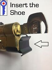Locksmith practice euro cylinder re-pinning shoe short 5 pin locks 1st P&P