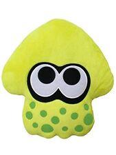 Sanei Splatoon2 squid cushion stuffed toy height 35cm neon yellow