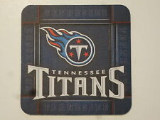 Cool BEER COASTER ~ NFL Nashville TENNESSEE TITANS American Football League AFL