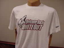 SWEET Phoenix Coyotes Men's Sz Lg Welcome Back White Out SGA T-Shirt, VERY COOL!