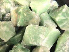 TUMBLER ROCKS Green Quartz Stones for Tumbling