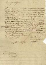Lettera di Natale Goldini al Pittore Giuseppe Barucchi Chittò in Ferrara 1834
