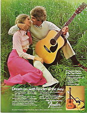 1974 DREAM ON ALL THE WAY IN A FENDER GUITAR AD