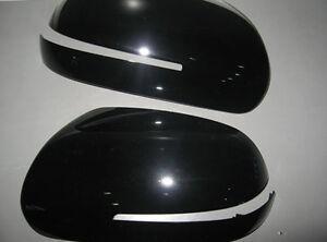 Side Mirror Cover Black 2p for 2009 2013 Kia Forte & Koup