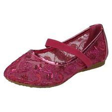 Chaussures roses à enfiler pour fille de 2 à 16 ans, pointure 28