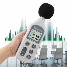30 130 Db Lcd Digital Sound Level Meter Pressure Tester Usb Decibel Noise
