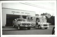 Ridge Long Island NY Ambulance & Rescue 1986 Real Photo Postcard